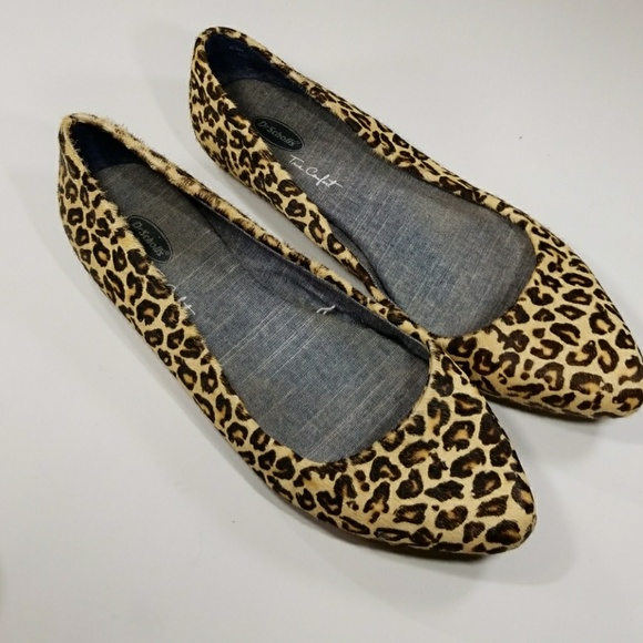 ac9ae797385d Dr. Scholl's Shoes | Dr Scholls True Comfort Animal Print Flats ...